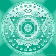 Image result for free heart chakra mandala