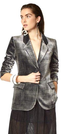 Tartan Plaid, Giorgio Armani, To My Daughter, Blazer, Fall, Christmas, How To Wear, Jackets, Clothes