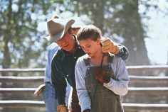 """The Horse Whisperer"" ~ Starring Robert Redford and Scarlet Johansson Hollywood Actor, Classic Hollywood, Robert Redford Movies, The Horse Whisperer, Kristin Scott, Iconic Movies, Music Tv, Scarlett Johansson, Stylish Men"