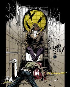 """The Watchmen """"Rorschach Sketch"""""""