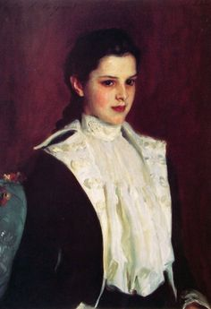 Alice Vanderbilt Shepard (1888) by John Singer Sargent.