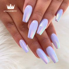 hair and nails ideas ~ hair and nails . hair and nails color trends . hair and nails growth . hair and nails quick hairstyles . hair and nails vitamins . hair and nails ideas . hair and nails salon . hair and nails beachy waves Summer Acrylic Nails, Best Acrylic Nails, Acrylic Nails Chrome, Chrome Nail Art, Chrome Nails Designs, Acrylic Nail Art, Holographic Nails Acrylic, Summer Nail Polish, Purple Nail Designs