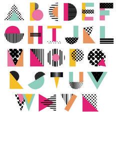 3 Ways to Improve Your Typography Alphabet Design Awesome Typography Alphabet Design Vintage Typography, Typography Fonts, Graphic Design Typography, Lettering Design, Hand Lettering, Typography Portrait, Chinese Typography, Creative Typography, Typo Design