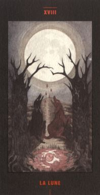 The Moon from the Aleph Tarot