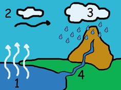Water Cycle, Teaching Biology, Fun Math, Geography, Preschool, Education, Experiment, Inspiration, Image