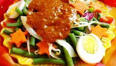 Surinaams eten – Petjel (populairste Surinaamse groentesalade)