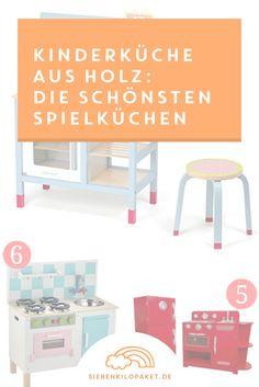 Keine Lust auf Duktig? Es geht auch anders! Hier findest du die schönsten Spielküchen für die Kleinen.  Jetzt klicken - oder pinnen & später lesen!