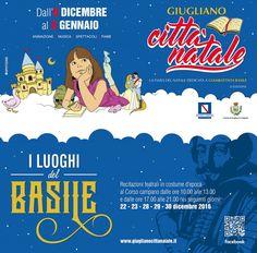 Giugliano, i luoghi del Basile: dal 22 dicembre spettacoli per bambini, fiabe, animazione e rappresentazioni sceniche