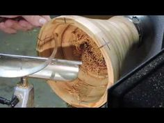 Hacks and information for woodturning! Woodworking can earn you a lot of money as time passes. The recommendation provided here can help you in learning more about this incredible skill to enable you to create incredible works of art. Woodworking School, Woodworking Store, Learn Woodworking, Woodworking Plans, Woodworking Projects, Lathe Projects, Popular Woodworking, Wood Turning Lathe, Wood Turning Projects