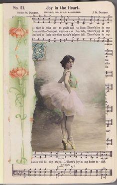 Vintage Gluebook lesson#2 by rosalie ackerson, via Flickr