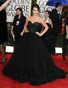 Lea Michele red carpet stunner