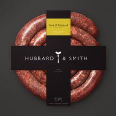 Hubbard & Smith Branding and Packaging by Paul Beelen, via Behance