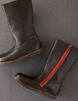 Tall Leather Boots (Dark Chocolate Leather)