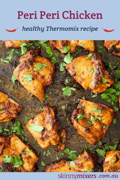 Peri Peri Chicken is perfect for those who are wanting to lose a little weight. It is low carb, keto, gluten free, dairy free & best cooked on the BBQ. Chicken Recipes Thermomix, Health Chicken Recipes, Thermomix Recipes Healthy, Low Carb Vegetarian Recipes, Low Carb Dinner Recipes, Best Chicken Recipes, Brunch Recipes, Keto Recipes, Peri Peri Chicken