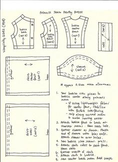 Blythe princess seam pattern
