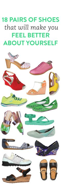 18 pairs of shoes to shop now