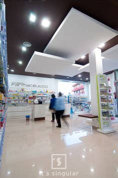 Farmacia Raquel Lopez en Aguadulce, Almería. Its Singular #farmacia #pharmacy #design #diseño #itssingular