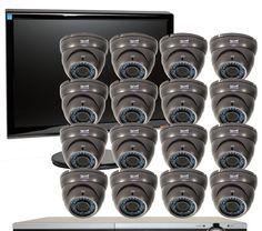 Paket Pasang 2 Camera CCTV China  Fitur 2 Unit Camera Full Infrared 2 Unit Adapter 5 Unit BNC Steker 1 Unit DVR 4 CH