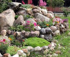 rocks and flowers landscaping | Rock Garden Design Tips, 15 Rocks Garden Landscape Ideas