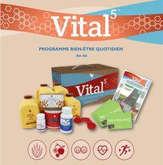 Découvrez dès aujourd'hui Vital 5 ! Rendez-vous sur www.alexandrapeacock.flp.com