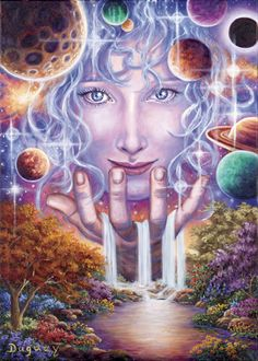 I do not conceive of any reality at all as without genuine unity. ~ Gottfried Leibniz ~ [Art - Mario Duguay]