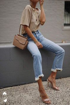 Women Casual Jeans Outfit Jeans Store Mens Casual Wedding Guest Attire Casual Fashion For 50 Year Old Man 2017 Super High Rise Jeans Long Black Skirt Outfit Casual Casual Sporty Outfits Beige Outfit, Pastel Outfit, Neutral Outfit, Mode Outfits, Jean Outfits, Trendy Outfits, Fall Outfits, Trendy Jeans, Sporty Outfits