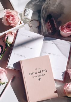 2018 Artist of Life Workbook by Lavendaire | new year | goal planning | journal