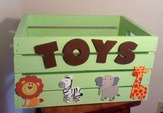 cajon guarda juguetes para pedro y julia
