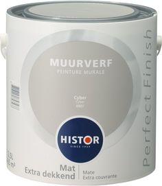 Histor Perfect Finish Muurverf Mat - 2,5 Liter - Cyber