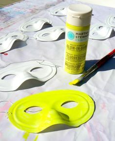 Glow in the Dark Party Ideas for Teenagers | The Art Pantry: Glow In the Dark Birthday Goodie Bag!