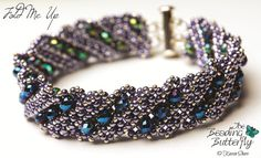 Fold Me Up  Reversible Bracelet Tutorial  by beadingbutterflyshop