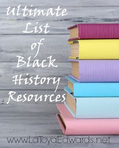 Looking for some resources for black history month? I have created a wonderful list for teachers, parents and homeschoolers alike! Did your favorite book or movie make the list?