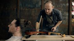 Artist Makes Working Musical Instrument Using His Own Hair