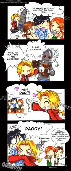 fullmetal alchemist funny | Full Metal Alchemist Another Comic