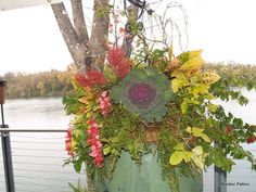 Our outdoor Tennessee River deck containers...for your special reception. Zan Guerry Clubhouse