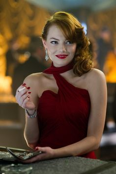 "EMMA STONE as Grace Faraday in Warner Bros. Pictures' and Village  Roadshow Pictures' drama ""GANGSTER SQUAD,"" a Warner Bros. Pictures  release.  Photo by Wilson Webb"