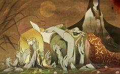 beware of the bear Mononoke Anime, Manga Anime, Anime Art, Horror Tale, Bishounen, Film Books, Japan Art, Anime Fantasy, A Cartoon