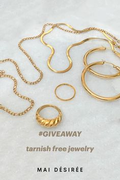 We are giving away $300 worth of gift cards for you and your bestie to shop at maidesiree.com.   click on the Instagram post and enter to win :)  #giveaway #fashion #fallfashion #giveawaycontest #sustainablefashion #sustainablejewelry #goldjewelry #bossbabes #smallbusiness #womanownedbusiness #givesback #fallinspo #waterproofjewelry #demifinejewelry #fashionstyle #fashionweek #fashionlover #jewelry #jewelrytrends #jewelrydesign #giveaways #giveawaytime #jewelrygiveaway