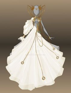 This would be an awesome wedding dress.   future wedding ...
