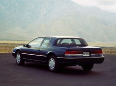 Had it! 1989 Mercury Cougar (1989 – 1991). V8   Mine was a beautiful Candy Apple Red!  Prettiest car on the road!
