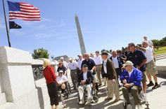 From The Citizen via @Citizen_House & @CitizenCondon: #Veterans with Operation Enduring Gratitude tour the National #WWII Monuments Saturday at the U.S. Capitol.