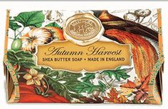 Autumn Harvest Large Bath Soap Bar by Michel Design Works | BettesGifts.com | $9.99