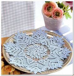 Crochet: Beautiful doily