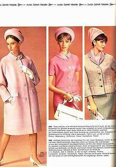 Burda Moden International Sonderheft Frühling/Sommer 1964 mit Schnittmuster
