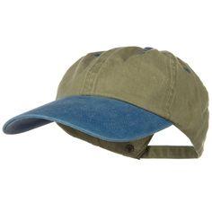 2d634aefe99112 Long Bill Cap-Khaki Navy Swordfish 4 inch Bill at Amazon Men's Clothing  store: