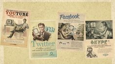 2560x1440 Wallpaper youtube, twitter, facebook, skype, social networking