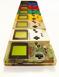 Game Boy Original Rainbow #nintendo #gameboy #rainbow