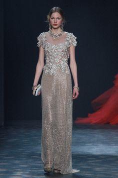 Wedding dress inspo straight from the runways of New York Fashion Week.