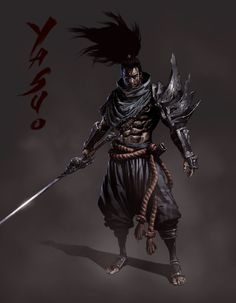 ArtStation - Yasuo fan art, Seung Eun Kim