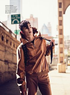 Chris Moore & Sung Jin Park by John Burke for Fashionisto #6